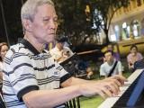 Pianovers Meetup #56, Albert performing