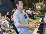 Pianovers Meetup #56, Wayne performing