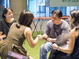 Pianovers Meetup #56, Audrey, Jin Li, Gee Yong, and Tabitha