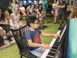 Pianovers Meetup #57, Wesley performing