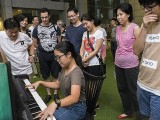 Pianovers Meetup #61, Erika playing