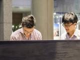 Pianovers Meetup #62, Ron, and Jaeyong
