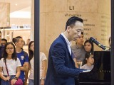 Piano Marathon @ ION Orchard 2017, Teik Lee performing #4