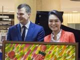Piano Marathon @ ION Orchard 2017, Adam Gyorgy, and Celine Goh