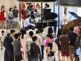 Piano Marathon @ ION Orchard 2017, David performing #3