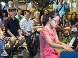 Pianovers Meetup #63, Erika performing for us