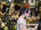 Pianovers Meetup #63, Daphne Puk Jia Xuan performing
