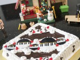Pianovers Meetup #64, Piano cake made by Winny