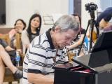 Pianovers Meetup #64, Albert performing