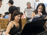 Pianovers Meetup #64, May Ling, Karen, and Tabitha