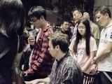 Pianovers Meetup #65, Pianovers jamming