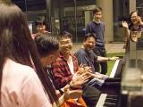 Pianovers Meetup #65, Pianovers having fun at jamming