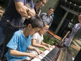 Pianovers Meetup #66, Marcus and Emma playing