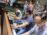 Pianovers Meetup #66, Yew Siang, Gee Yong, and Teik Lee jamming