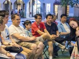 Pianovers Meetup #67, I-Wen sharing with us