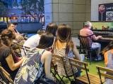 Pianovers Meetup #67, Albert performing