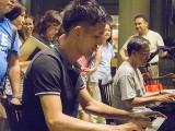 Pianovers Meetup #67, Masashi Horio, and Chris playing