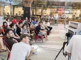 Pianovers Meetup #68 (Tanjong Pagar Centre), Yong Meng sharing after Siew Tin's performance