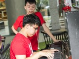 Pianovers Meetup #69, Ace Chow, and his friend