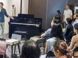 Pianovers Meetup #70, Gregory sharing about Casio Celviano Grand Hybrid GP-500