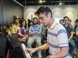 Pianovers Meetup #70, Theng Beng performing