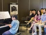 Pianovers Meetup #70, Wesley performing