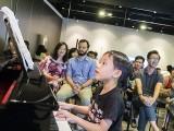 Pianovers Meetup #70, Jovan performing