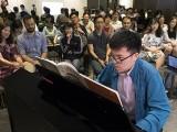 Pianovers Meetup #70, Zhi Yuan performing for us