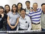 Pianovers Meetup #70, Siew Tin, Elyn, Audrey, May Ling, Zensen, Theng Beng, Albert, and Gee Yong
