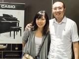 Pianovers Meetup #70, Phoebe, and Yong Meng