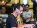 Pianovers Meetup #72, David performing