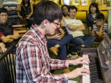 Pianovers Meetup #72, Matthew Soh performing