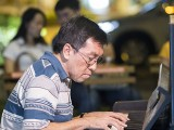 Pianovers Meetup #72, Chris Khoo performing