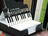ThePiano.SG Pop-up Stall @ Suntec, Piano themed Memo Pad