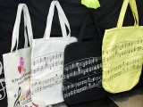 ThePiano.SG Pop-up Stall @ Suntec, Piano themed Tote Bags