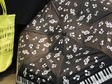 ThePiano.SG Pop-up Stall @ Suntec, Piano themed Umbrella