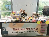 ThePiano.SG Pop-up Stall @ Suntec, Yong Meng, and Elyn