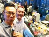 ThePiano.SG Pop-up Stall @ Suntec, Nick, and Yong Meng