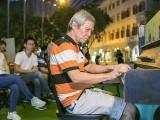 Pianovers Meetup #76, Albert performing