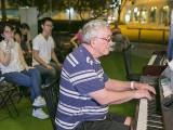 Pianovers Meetup #76, George Bishop performing
