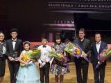 4th Steinway Youth Piano Competition Grand Finals 2018, Celine Goh, Zhang Yifan Jem, Meng YiRuiXue Jessie, Tang Zhi Fang Adrian, Noriko Ogawa, Murray Mclachlan, and Tang Zhe