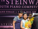 4th Steinway Youth Piano Competition Grand Finals 2018, Meng YiRuiXue Jessie and mother