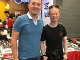 ThePiano.SG Pop-up Stall @ Bedok Point, Yong Meng, and Ken Tay