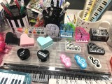 ThePiano.SG Pop-up Stall @ Bedok Point, Piano themed products and gifts on display #5
