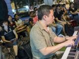 Pianovers Meetup #79, Gavin performing
