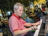 Pianovers Meetup #79, Albert performing