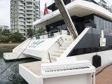 Pianovers Sailaway #2, Piano with yacht