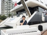 Pianovers Sailaway #2, Siew Tin with piano