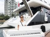 Pianovers Sailaway #2, Erika with piano