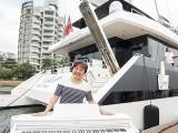 Pianovers Sailaway #2, Kathryn Ng with piano